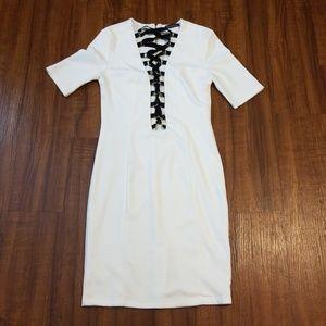 Dresses & Skirts - Trendy Lace up Mini Dress
